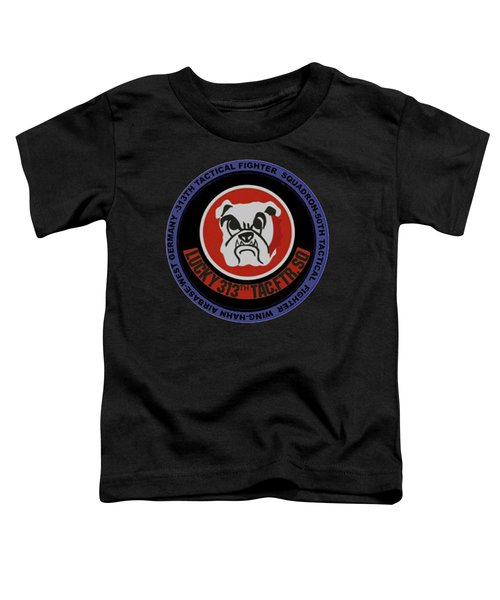 The 313th Tactical Fighter Squadron Toddler T-Shirt