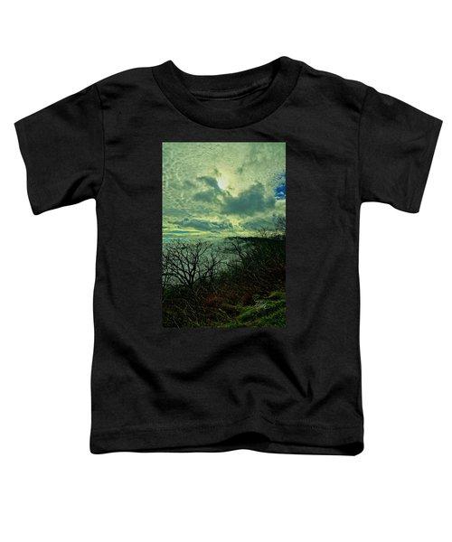 Thunder Mountain Clouds Toddler T-Shirt