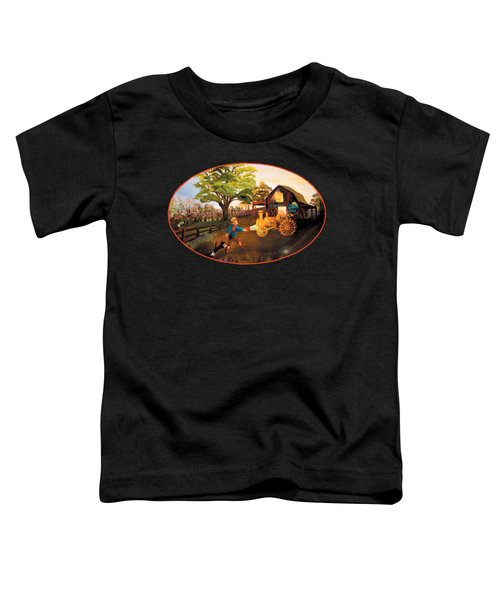 Tractor And Barn Toddler T-Shirt