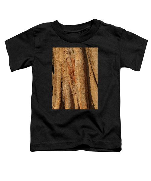Tree Trunk And Bark Of Chambak Toddler T-Shirt
