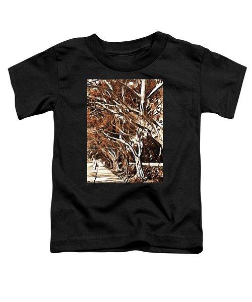 Treelined Toddler T-Shirt