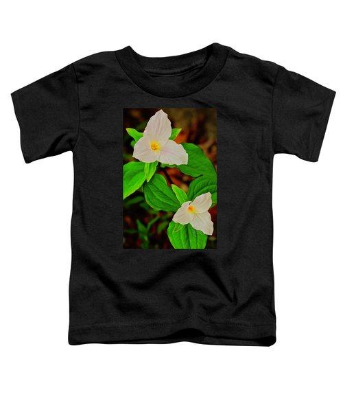 Trilliums Toddler T-Shirt
