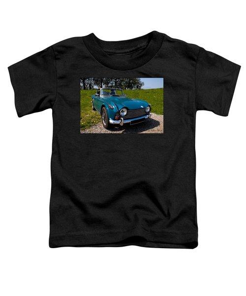 Triumph Tr5 Blue Toddler T-Shirt