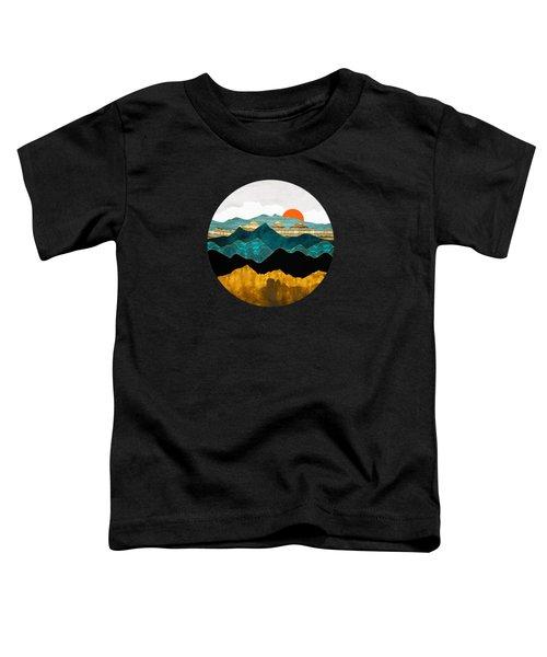 Turquoise Vista Toddler T-Shirt