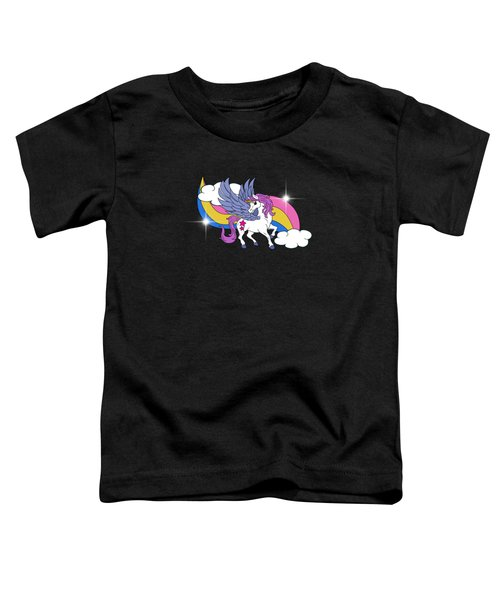 Unicorn With Wings Toddler T-Shirt