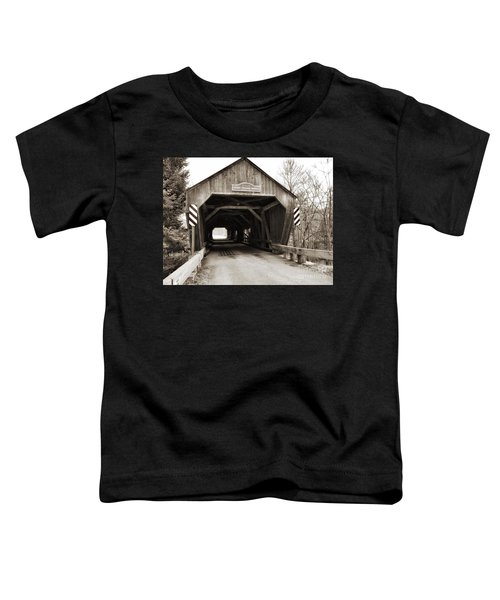 Union Village Covered Bridge Toddler T-Shirt