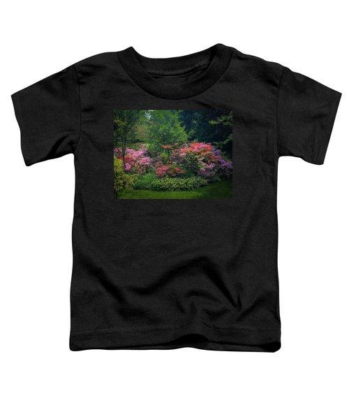 Urban Flower Garden Toddler T-Shirt