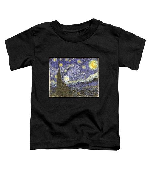 Van Goh Starry Night Toddler T-Shirt