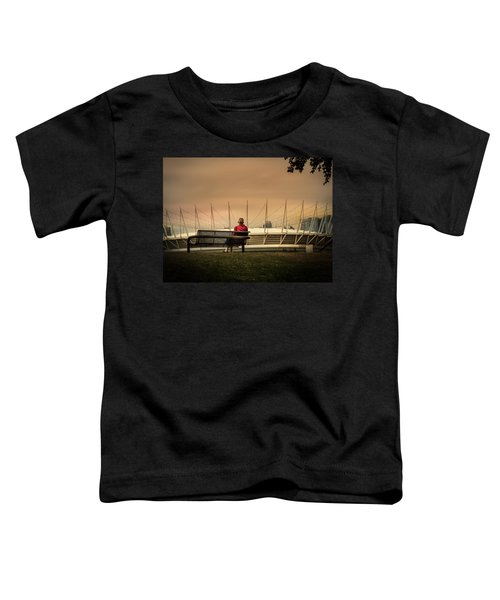 Vancouver Stadium In A Golden Hour Toddler T-Shirt