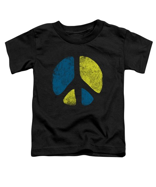 Vintage Peace Sign Toddler T-Shirt