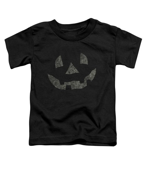 Vintage Pumpkin Face Toddler T-Shirt