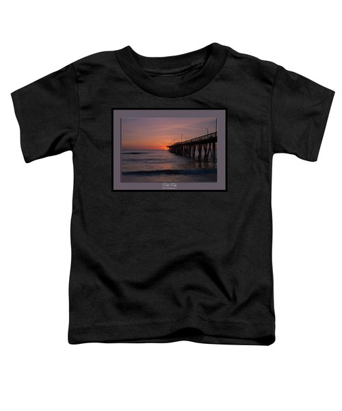 Virginia Beach Sunrise Toddler T-Shirt