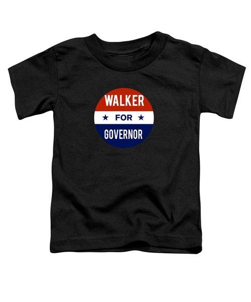 Walker For Governor 2018 Toddler T-Shirt