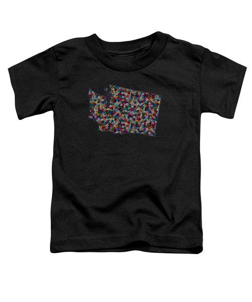 Washington Map - 1 Toddler T-Shirt