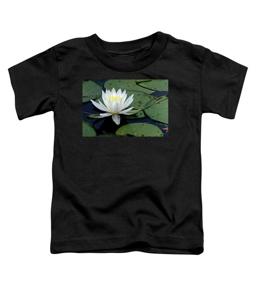 White Water Lilly Toddler T-Shirt