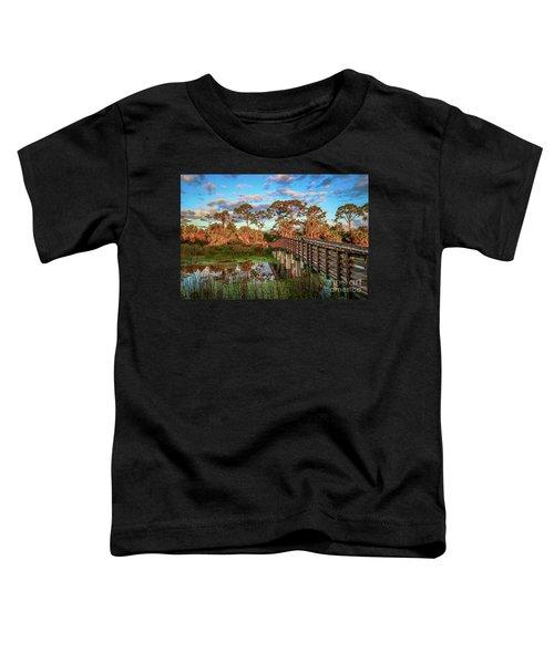 Winding Waters Boardwalk Toddler T-Shirt