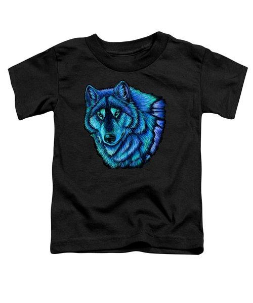 Wolf Aurora Toddler T-Shirt