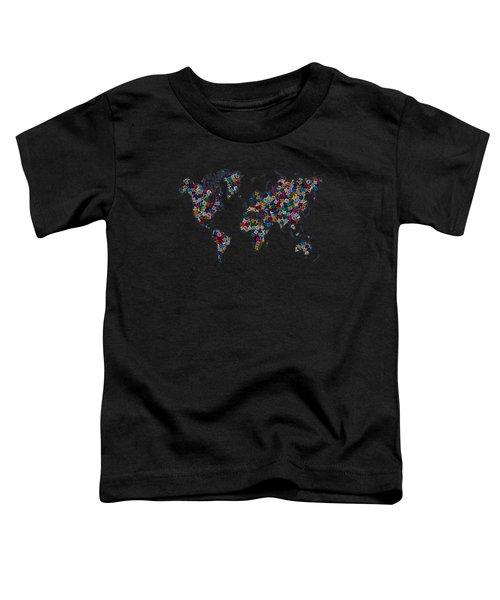 World Map-2 Toddler T-Shirt
