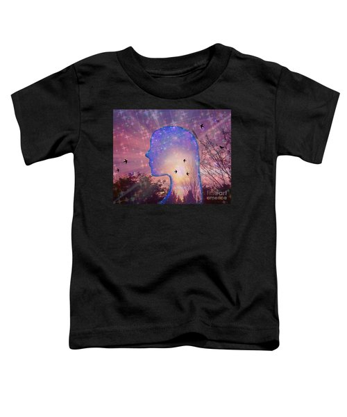 Worlds Within Worlds Toddler T-Shirt