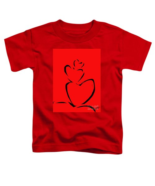 A Stack Of Hearts Toddler T-Shirt