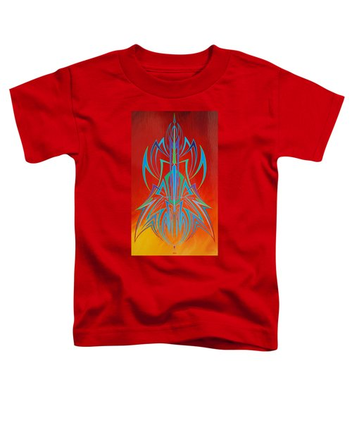 Desert Fire Storm Toddler T-Shirt
