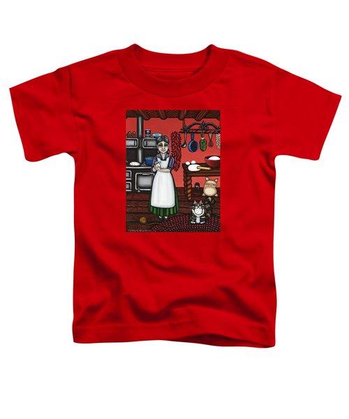 Abuelita Or Grandma Toddler T-Shirt