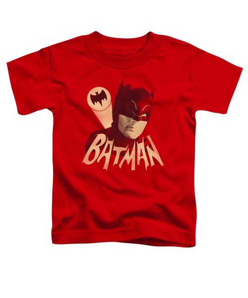 Batman Classic Tv - Bat Signal Toddler T-Shirt by Brand A