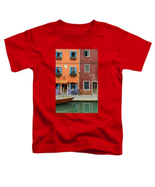 Burano Italy Toddler T-Shirt