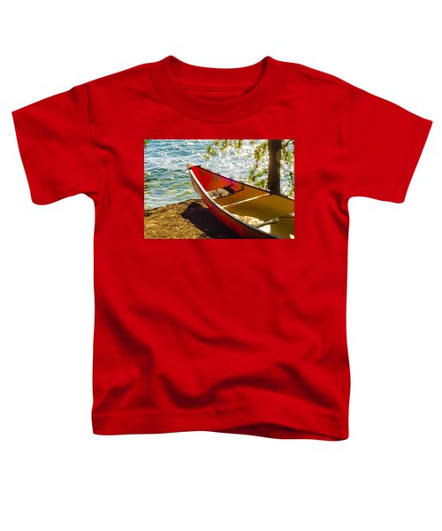 Kayak By The Water Toddler T-Shirt