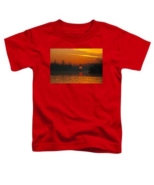 Morning Over River Toddler T-Shirt