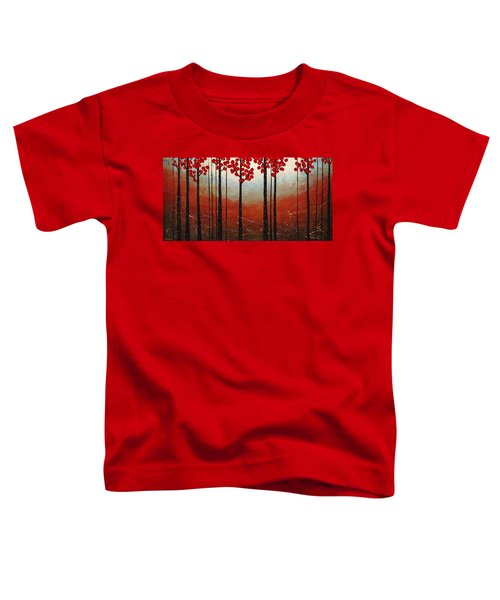 Red Blossom Toddler T-Shirt