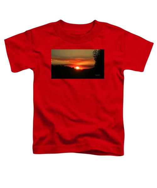 Smokin' Payson Sunset Toddler T-Shirt