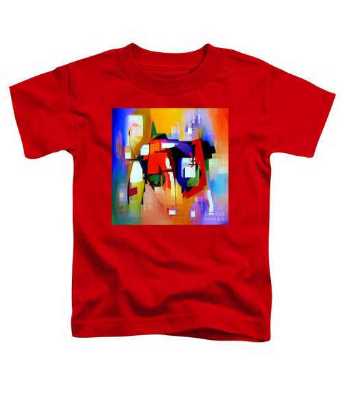 Abstract Series Iv Toddler T-Shirt