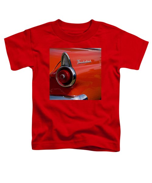 1955 427 Thunderbird Tail Light Toddler T-Shirt