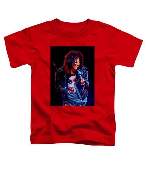 Alice Cooper  Toddler T-Shirt