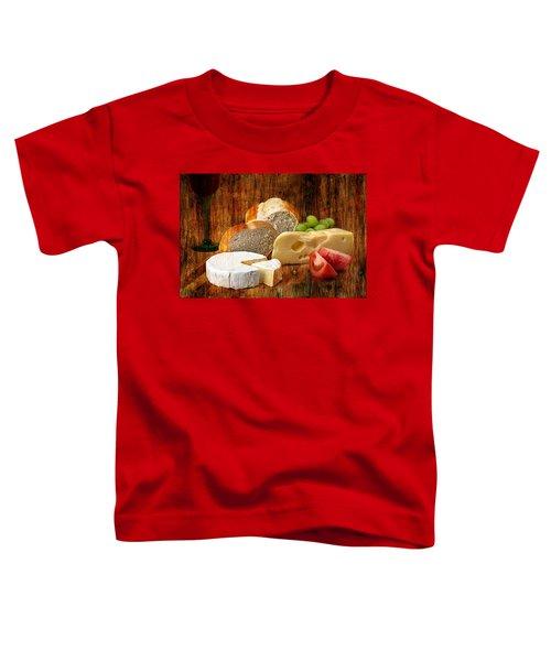 Norwegian Jarlsberg And Camembert Toddler T-Shirt