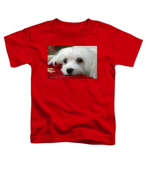 Snowdrop The Maltese Toddler T-Shirt