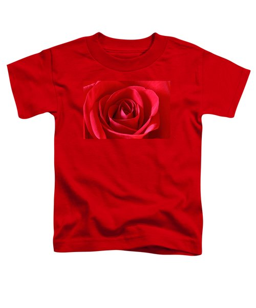 Red Rose Toddler T-Shirt