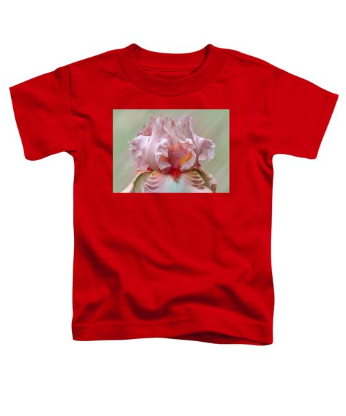 Pink Electrabrite Bearded Iris Toddler T-Shirt