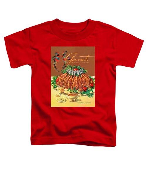 A Gourmet Cover Of Chicken Toddler T-Shirt