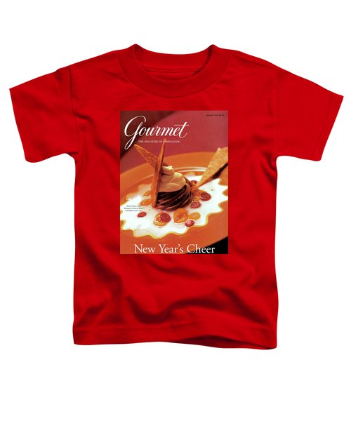 A Gourmet Cover Of Moch Mousse Toddler T-Shirt