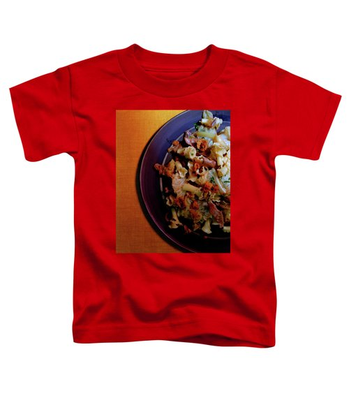 A Plate Of Pasta Toddler T-Shirt