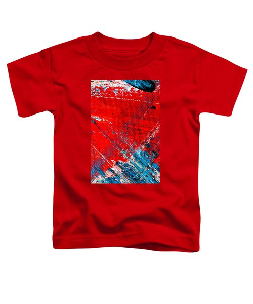 Abstract Original Artwork One Hundred Phoenixes Untitled Number Five Toddler T-Shirt