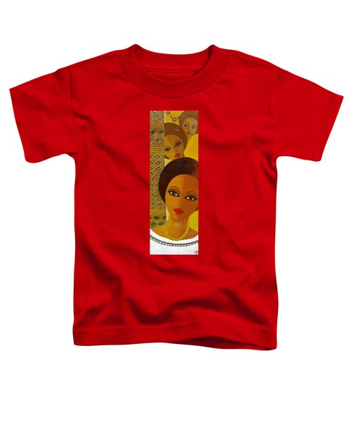 Afro Beauty Toddler T-Shirt