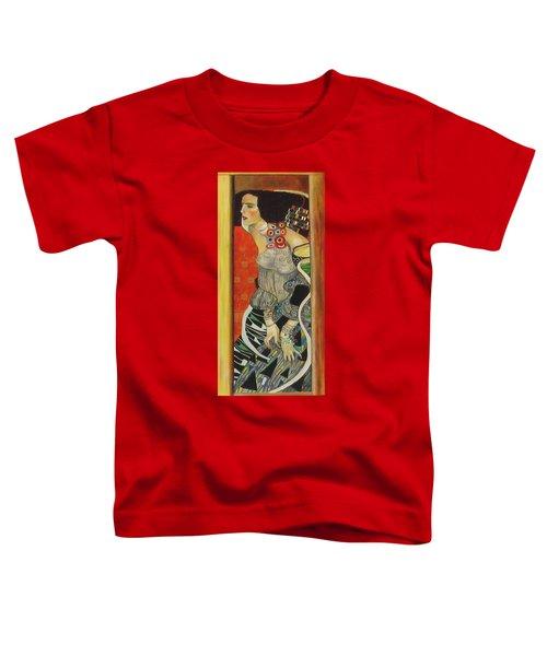 After Gustav Klimt Toddler T-Shirt