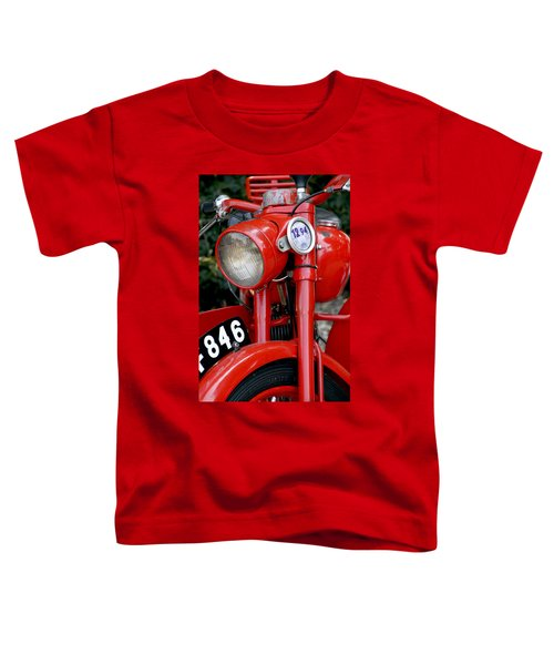 All Original English Motorcycle Toddler T-Shirt