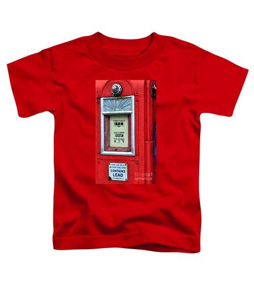 Antique Gas Pump Toddler T-Shirt
