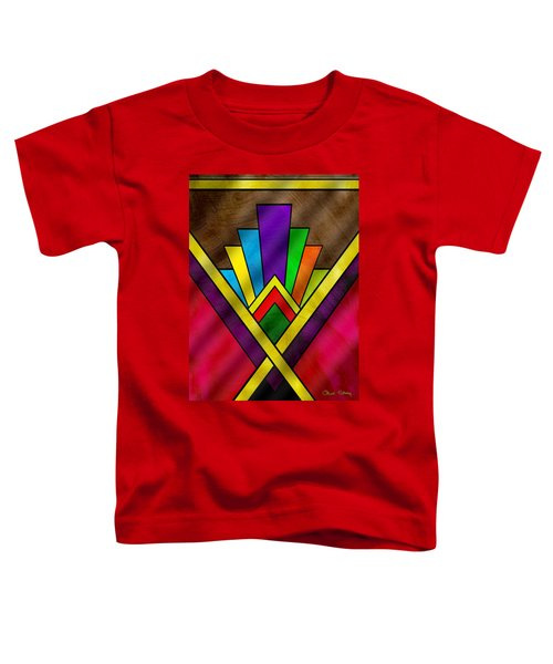 Art Deco Pattern 7v Toddler T-Shirt