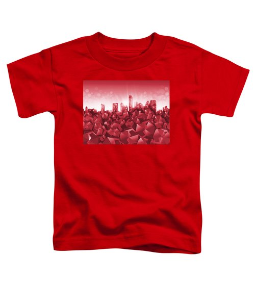Austin Skyline Geometry Toddler T-Shirt