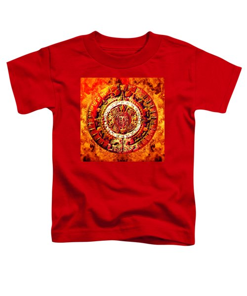 Aztec Sun Stone Toddler T-Shirt